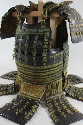 KOSHITORI 2 Iron Plates DOU & SODE of YOROI (armor) : EDO : 7.17 kg