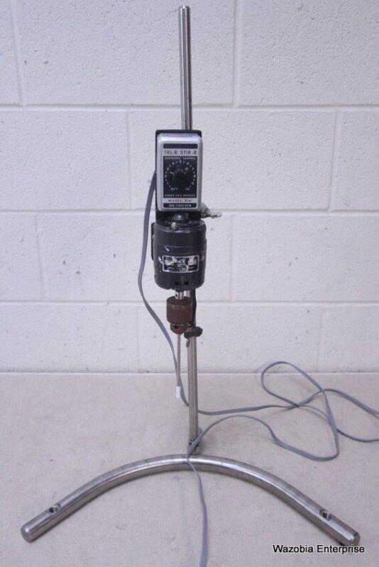 TRI-R STIR-R MODEL K41  HOMOGENIZER  MIXER 500-11000 RPM
