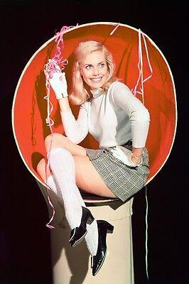 Lyn Peters In Short Skirt And White Stockings Batman Tv Series 11x17 Mini Poster ()