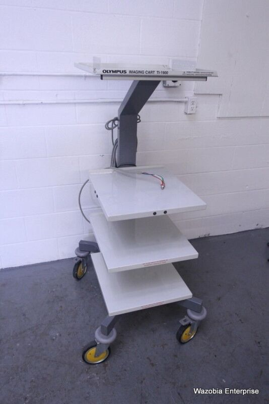 OLYMPUS IMAGING CART TI-1900 ENDOSCOPY SYSTEM MOBILE WORKSTATION