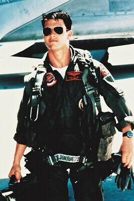 TOM CRUISE TOP GUN 24X36 POSTER FLYING OUTFIT SUNGLASSE
