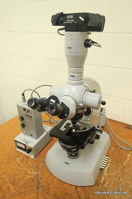 Carl Zeiss Photomicroscope Microscope Mc63a Power Supply