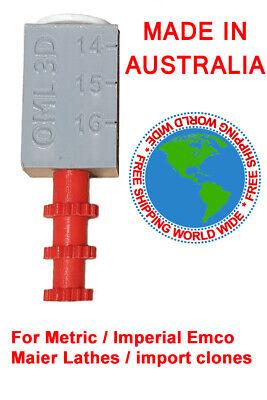 Emco Maximat Super 11 Lathe Metricimperial Threading Dial Gauge 3d Printed