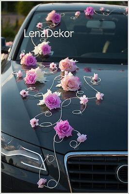 Coche Boda Decoración Lazos Graduación Limousine Decoración LEA1