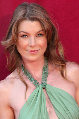 Ellen Pompeo Busty Color Evening Gown 11X17 Mini Poster