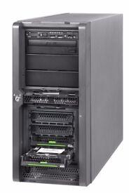 Fujitsu TX150 Workstation, Quadra FX540, 4GB ECC, Intel Xeon 3065 2x 2.33Ghz, 500GB HDD, Win 10 Pro