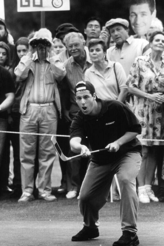 Happy Gilmore Adam Sandler On Golf Course 24X18 Poster