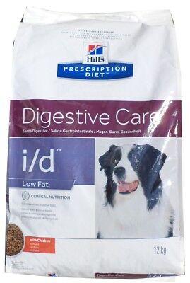 12kg Hills Prescription i/d Low Fat Canine Digestive Care , Diet, Hundefutter