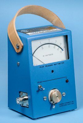 Coaxial Dynamics 83000A RF Wattmeter Pk/SSB/Avg  (compatible Bird 43P Elements)