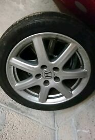 Honda Alloys wheel 5 x 114.3 civic mk8