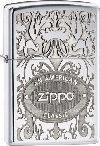 Zippo Lighter An American Classic Windproof USA New 24751