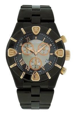 Roberto Cavalli R7253616045 Diamond Time Mens Black Chronograph Date Watch