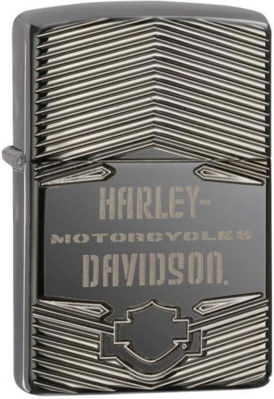 Zippo Harley Davidson Motorcycles Basic Logo Windproof Lighter 11566
