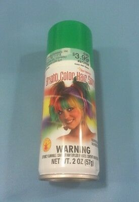Rubie's Bright Color Hairspray, - Green Hairspray