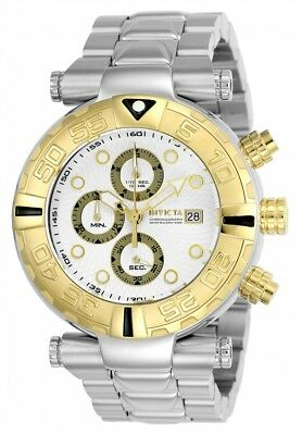 24983 Invicta Subaqua Noma I LTD Quartz Chronograph Men's 47mm SS Bracelet Watch