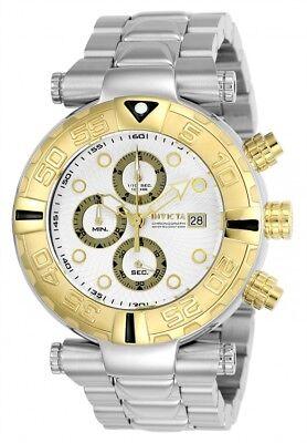 24983 Invicta Subaqua Noma I LTD Quartz Chronograph Men's 47mm SS Bracelet Watch