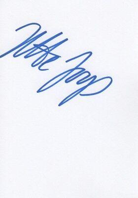 """Jette Joop """"Fashion Designer"""" Autogramm signed 10x15 cm Karteikarte"""