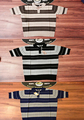Lowrider Clothing Charlie Brown Polo Shirt Old School Cholo Hustler Classic -