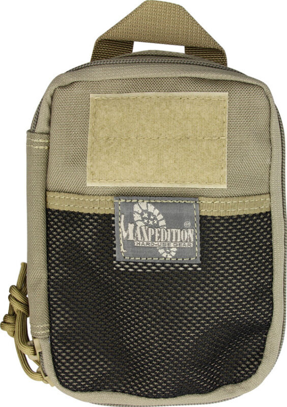 "Maxpedition MX261K Compact Khaki 5"" X 7"" X 2"" Fatty Pocket Organizer"