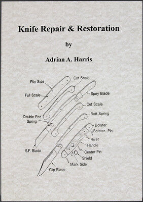 New Book Knife Repair and Restoration BK239