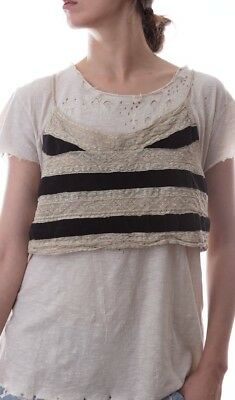 NWT Magnolia Pearl Layering Tank With Adjustable Straps in color Gondola