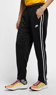 Nike Sportswear Men's Pants AR2246-010 Black/White sz S