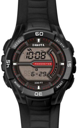 Dakota DK3692 Black CS Pedometer Watch