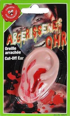 Abgerissenes Ohr Halloween Dekoration Geschenkidee Horror Deko