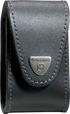 Victorinox 33240 Swisschamp Xltpouch Black Leather Belt Pouch Made To Fit