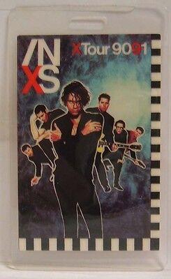 Inxs   Michael Hutchence   Vintage Original Concert Tour Laminate Backstage Pass