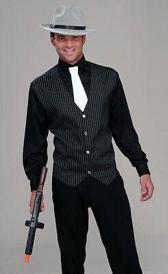 Roaring 20's Gangster Shirt / Vest & - Mens 20s Costumes