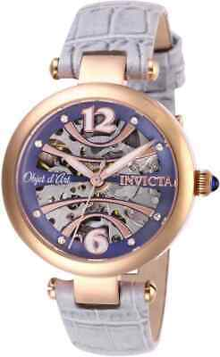 Invicta Objet D Art Automatic Purple Dial Ladies Watch 26370 ()