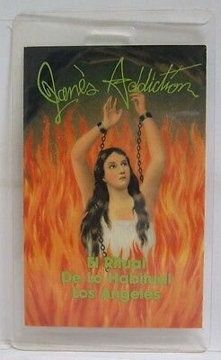 JANE'S ADDICTION / DAVE NAVARRO - ORIGINAL LAMINATE CONCERT TOUR BACKSTAGE PASS