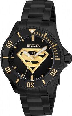 Invicta 26899 DC Comics Superman Women's 38mm Automatic Black-Tone Steel Watch