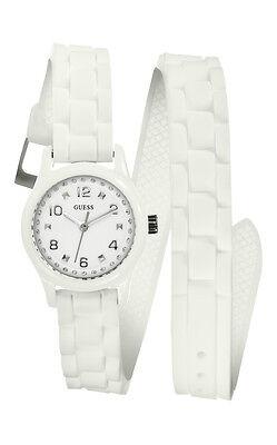 GUESS W65023L1 Micro Mini Women's Watch White With Wraparound