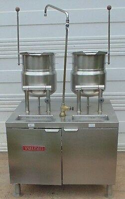 Vulcan 2t2036d 2 24 Quart Tilting Direct Steam Kettles