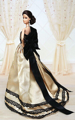 Fashion Royalty Princess Party Dress/Clothes/Gown For Barbie Doll S500P8 on Rummage