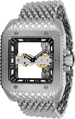 Invicta Cuadro 28507 Silver 45mm Dial Men's Watch