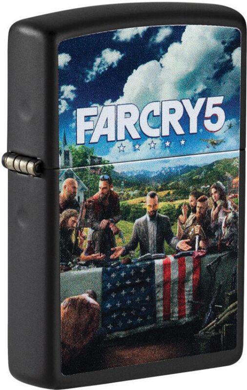 Zippo Lighter Ubisoft Far Cry 5 Design Black Matte Made In The USA 16560