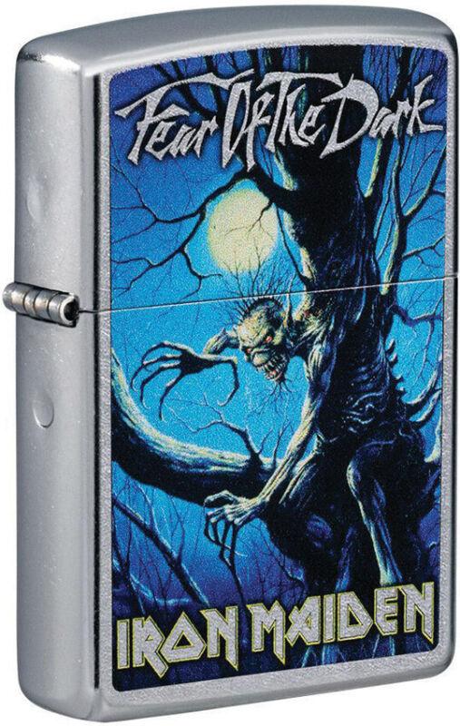 Zippo Lighter Iron Maiden Design Street Chrome Made In The USA 16540