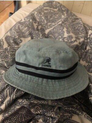 Kangol Bucket Hat - Small - Blue