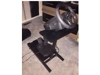 Thrustmaster PS4 wheel with stand