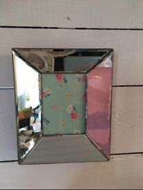 Twos company Mirrored photo frame
