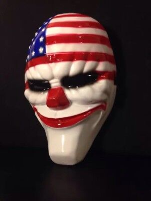 GAME PAYDAY 2 THE HEIST DALLAS MASK HALLOWEEN COSTUME PARTY HORROR PROP - Payday 2 Halloween Masks