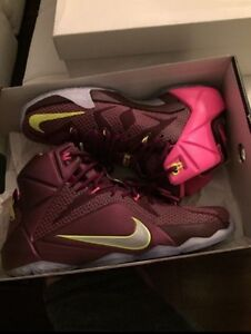 Size 8, LeBron 12s, 10/10 condition