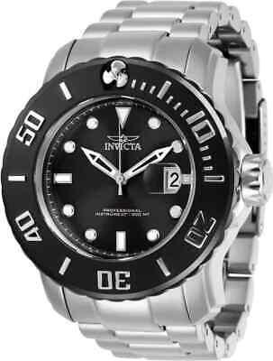 Invicta Pro Diver Automatic Black Dial Men's Watch - Automatic Divers Black Dial Watch