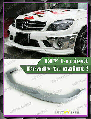 08-11 UNPAINTED PRIMED Mercedes Benz W204 C63 AMG GH TYPE FRONT LIP  for sale  Ontario