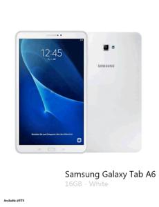 """Samsung Galaxy Tab A 10.1"""" 16GB Wi-Fi - White AS NEW"""