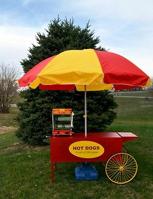Paragons Large Hot Dog Cart