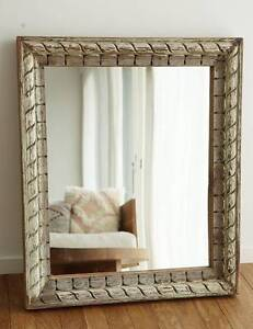 vintage rustic mirror Avalon Pittwater Area Preview
